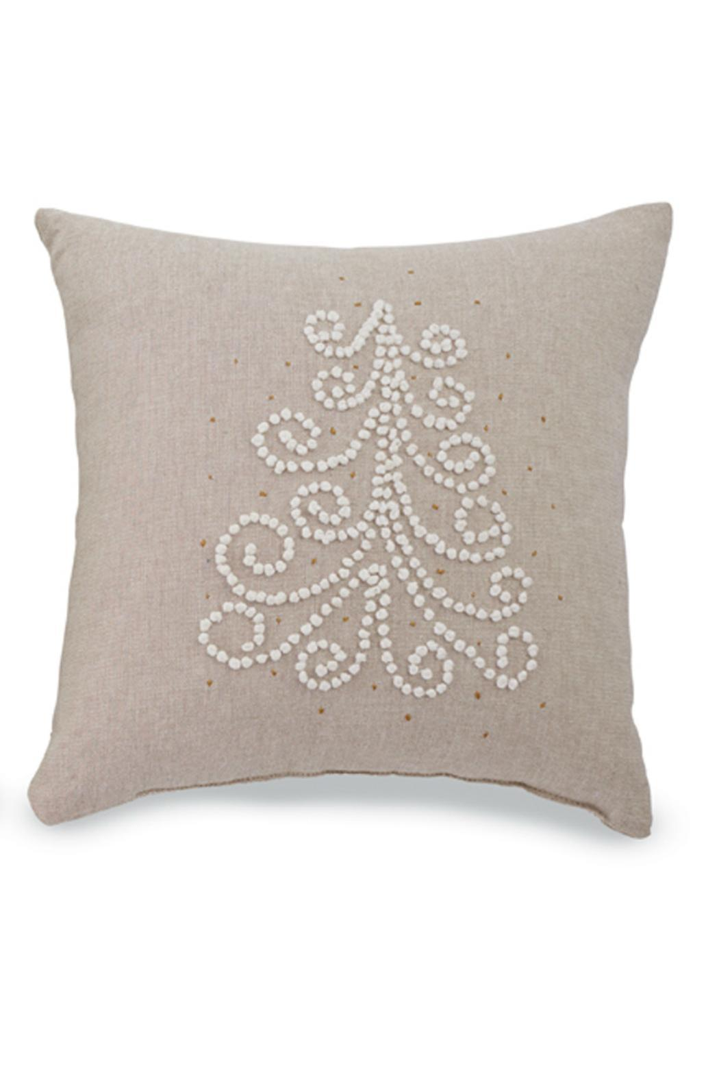 Mud Pie French Knot Pillow - Main Image