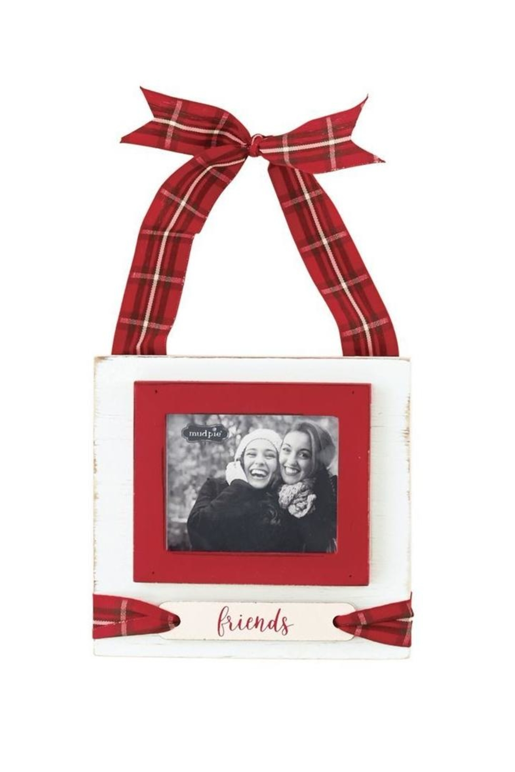 Mud Pie Friends Tartan Frame - Front Cropped Image