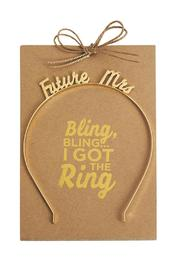 Mud Pie Future Mrs. Headband - Product Mini Image