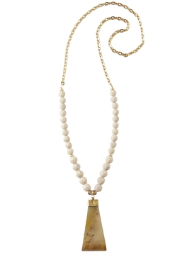 Shoptiques Product: Genuine Horn Necklace