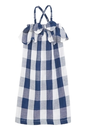 Mud Pie Gingham Bow Dress - Product Mini Image