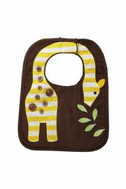 Mud Pie Giraffe Safari Bib - Front cropped