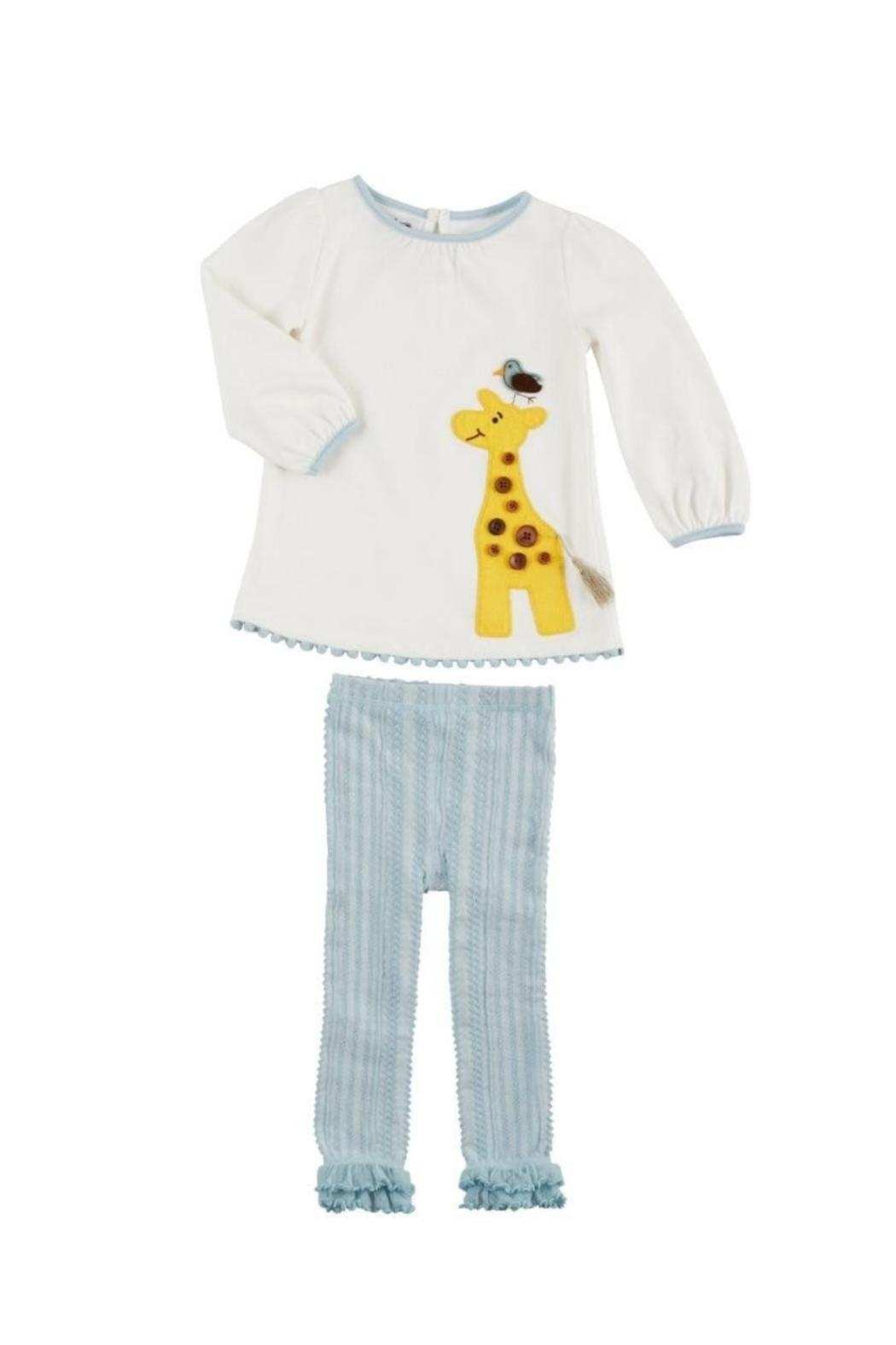 Mud Pie Giraffe Tunic Legging - Main Image