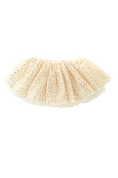 Shoptiques Product: Gold Mesh Skirt