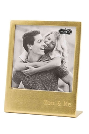 Mud Pie Gold You Me Photo Frame - Product Mini Image