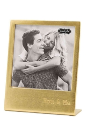 Mud Pie Gold Photo Frame - Front cropped