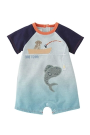 Mud Pie Gone Fishing Shortall - Front cropped