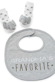Mud Pie Grandma Bib-Sock Set - Product Mini Image