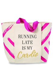 Mud Pie Gym Tote - Front cropped