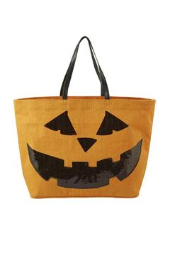 Shoptiques Product: Halloween Pumpkin Tote
