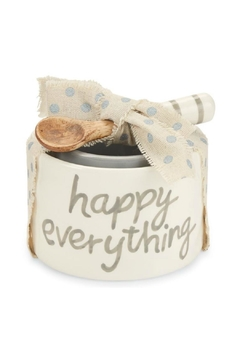 Shoptiques Product: Happy Everything Nested-Dip-Cup-Set