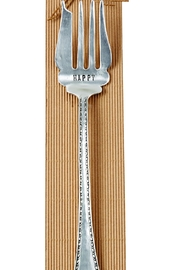 Mud Pie Happy Serving Fork - Product Mini Image