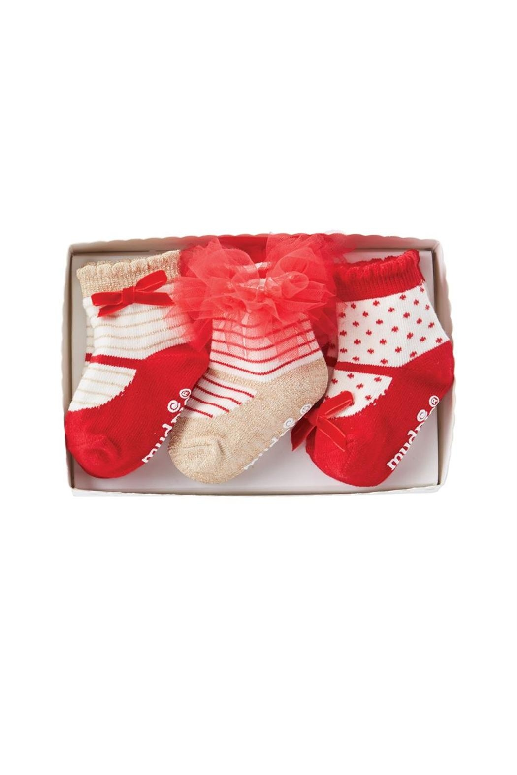 Mud Pie Holiday Sock Set - Front Full Image