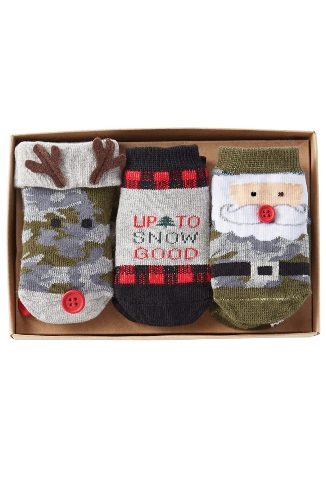 Mud Pie Holiday Socks - Front Full Image