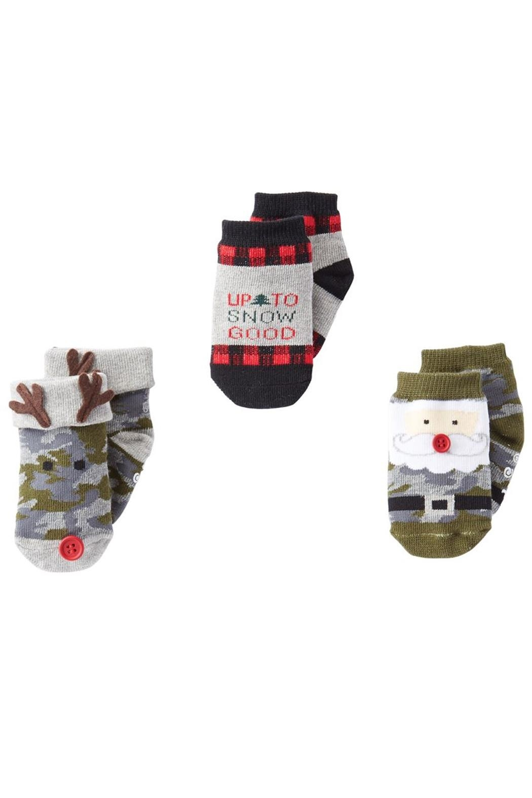Mud Pie Holiday Socks - Main Image