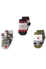 Mud Pie Holiday Socks - Front cropped