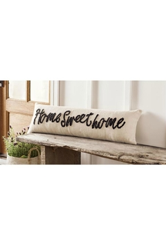 Shoptiques Product: Home-Sweet-Home Knot Pillow