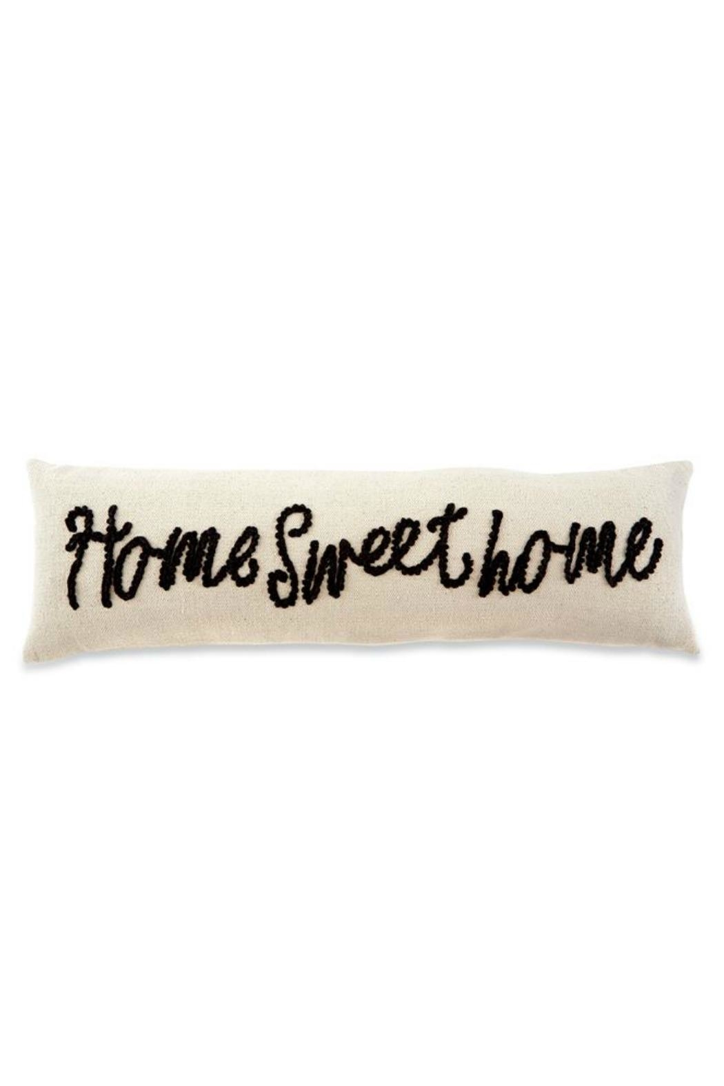 Mud Pie Home-Sweet-Home Knot Pillow - Front Full Image
