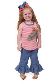 Mud Pie Horse Tunic Set - Product Mini Image