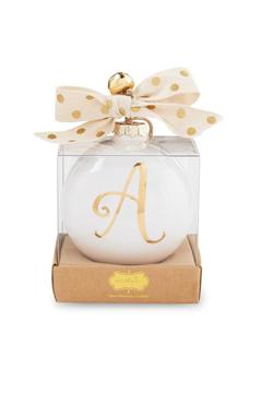 Shoptiques Product: Initial Ceramic Ornaments