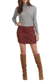 Mud Pie Iverson Suede Skirt - Product Mini Image