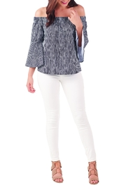 Mud Pie Izzy Off-The-Shoulder Top - Product Mini Image