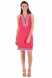 Mud Pie James Collared Dress - Front full body