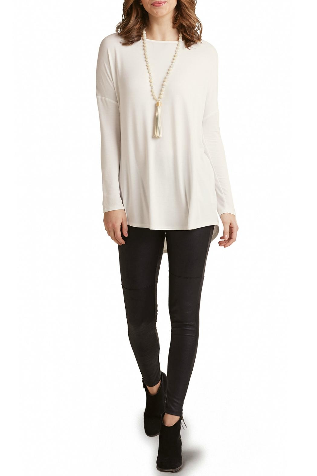 Mud Pie Jersey Tunic - Front Cropped Image