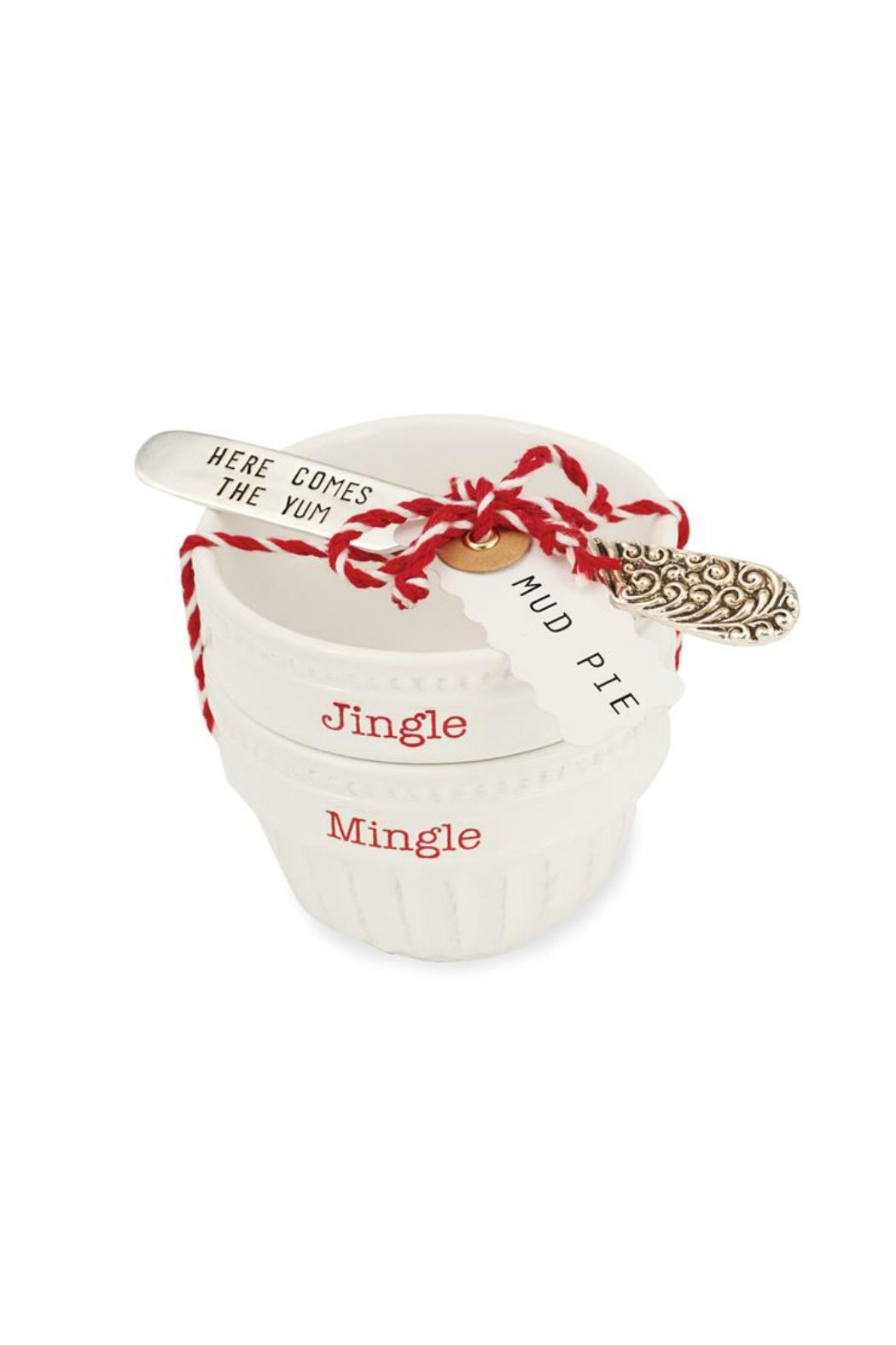 Mud Pie Jingle Mingle Cup Set - Front Cropped Image