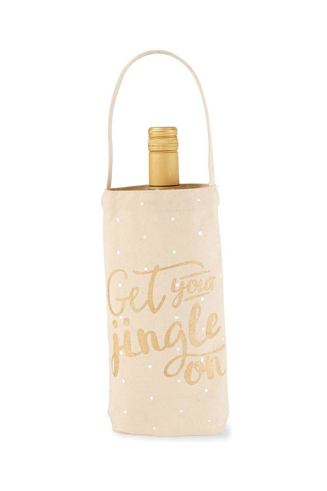Mud Pie Jingle Wine Bag - Main Image