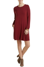 Mud Pie Jocelyn Jersey Dress - Front cropped