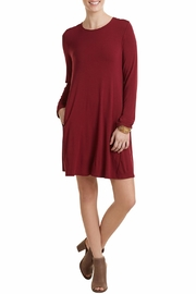 Mud Pie Jocelyn Jersey Dress - Product Mini Image
