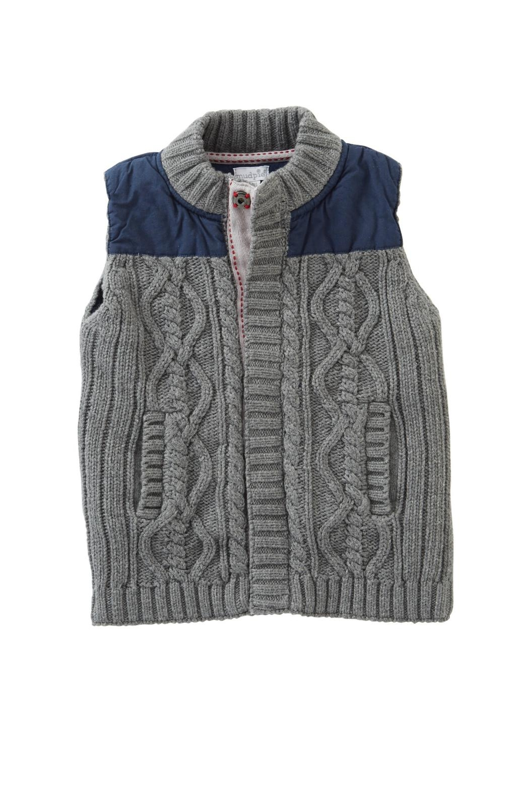 Mud Pie Knit Sweater Vest from Oklahoma by Wystle — Shoptiques