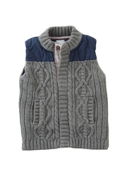 Mud Pie Knit Sweater Vest - Product Mini Image