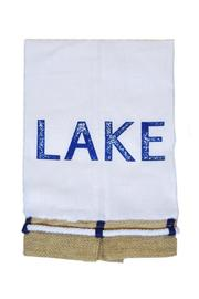 Mud Pie Lake Linen Towel - Product Mini Image
