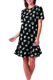Mud Pie Lana Flounce Dress - Front cropped
