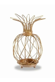 Mud Pie Large Pineapple Votive - Front cropped