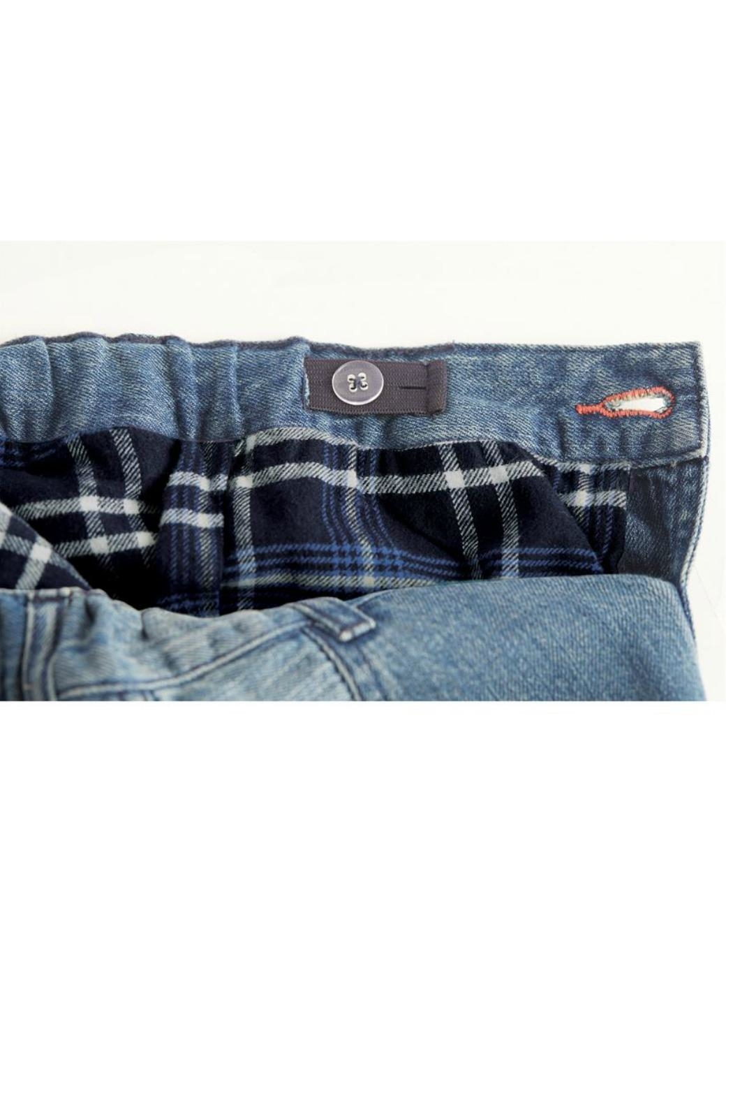 Mud Pie Lined Play Jeans - Front Full Image