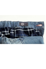 Mud Pie Lined Play Jeans - Front full body