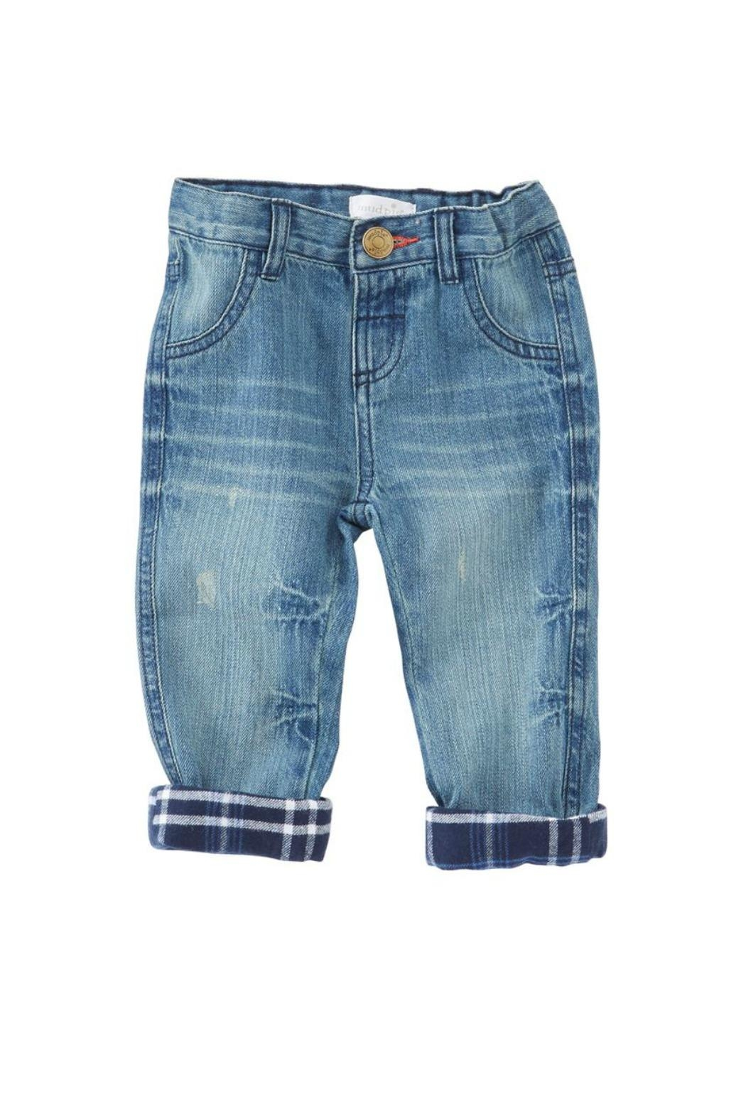 Mud Pie Lined Play Jeans - Main Image