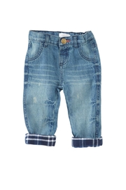 Mud Pie Lined Play Jeans - Product Mini Image