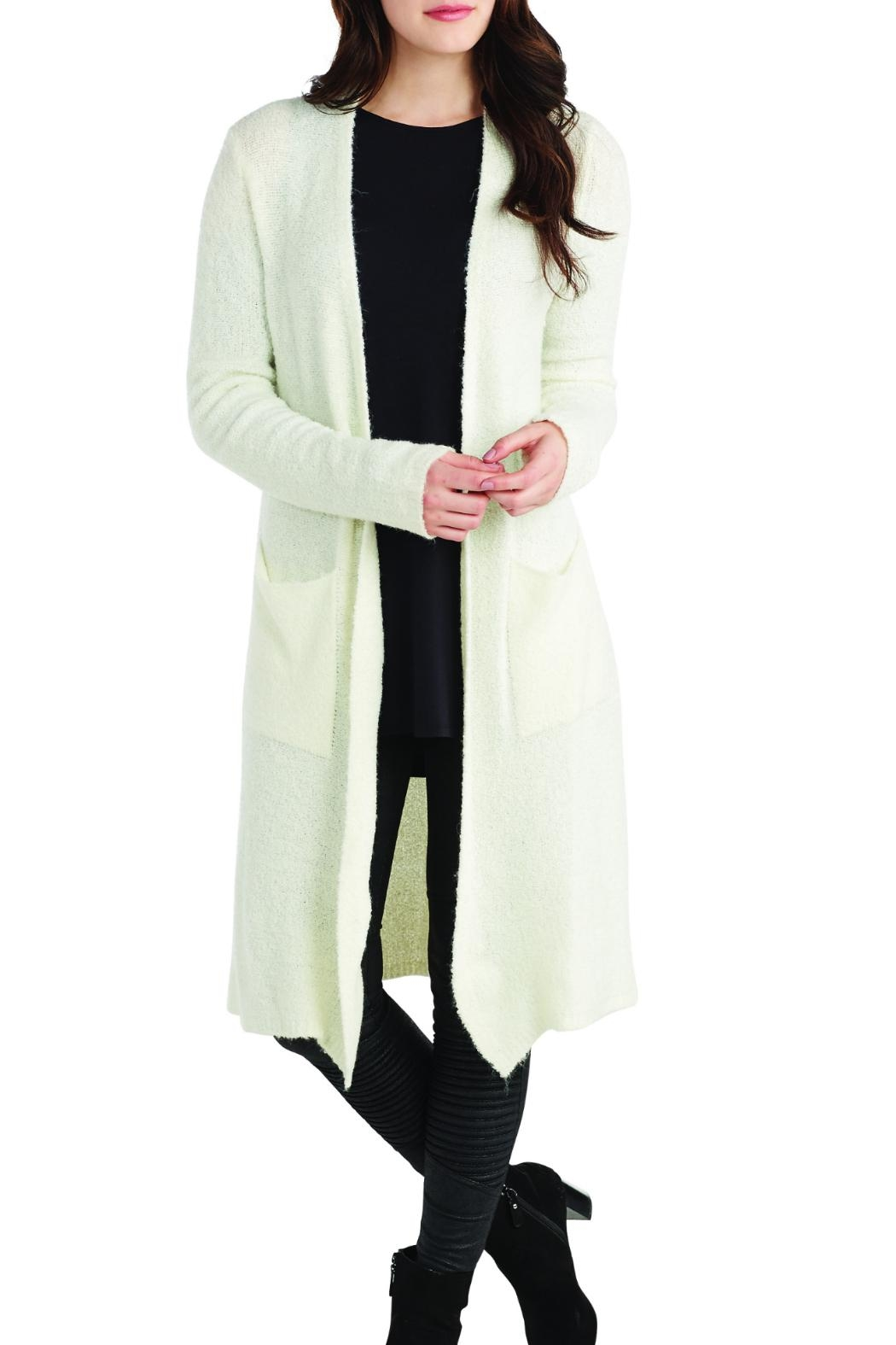 Mud Pie Long Cardigan Sweater - Front Cropped Image