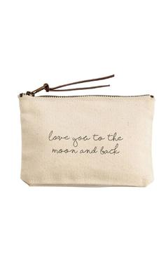 Mud Pie Love You Pouch - Alternate List Image