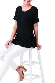 Mud Pie Mason Flounce Top - Front cropped