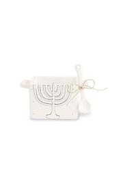 Mud Pie Menorah Caddy - Front cropped