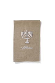 Mud Pie Menorah Hand Towel - Product Mini Image