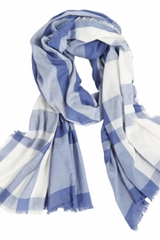 Mud Pie Mercer Plaid Scarf - Product Mini Image