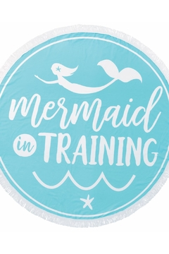 Mud Pie Mermaid Beach Blanket - Product List Image