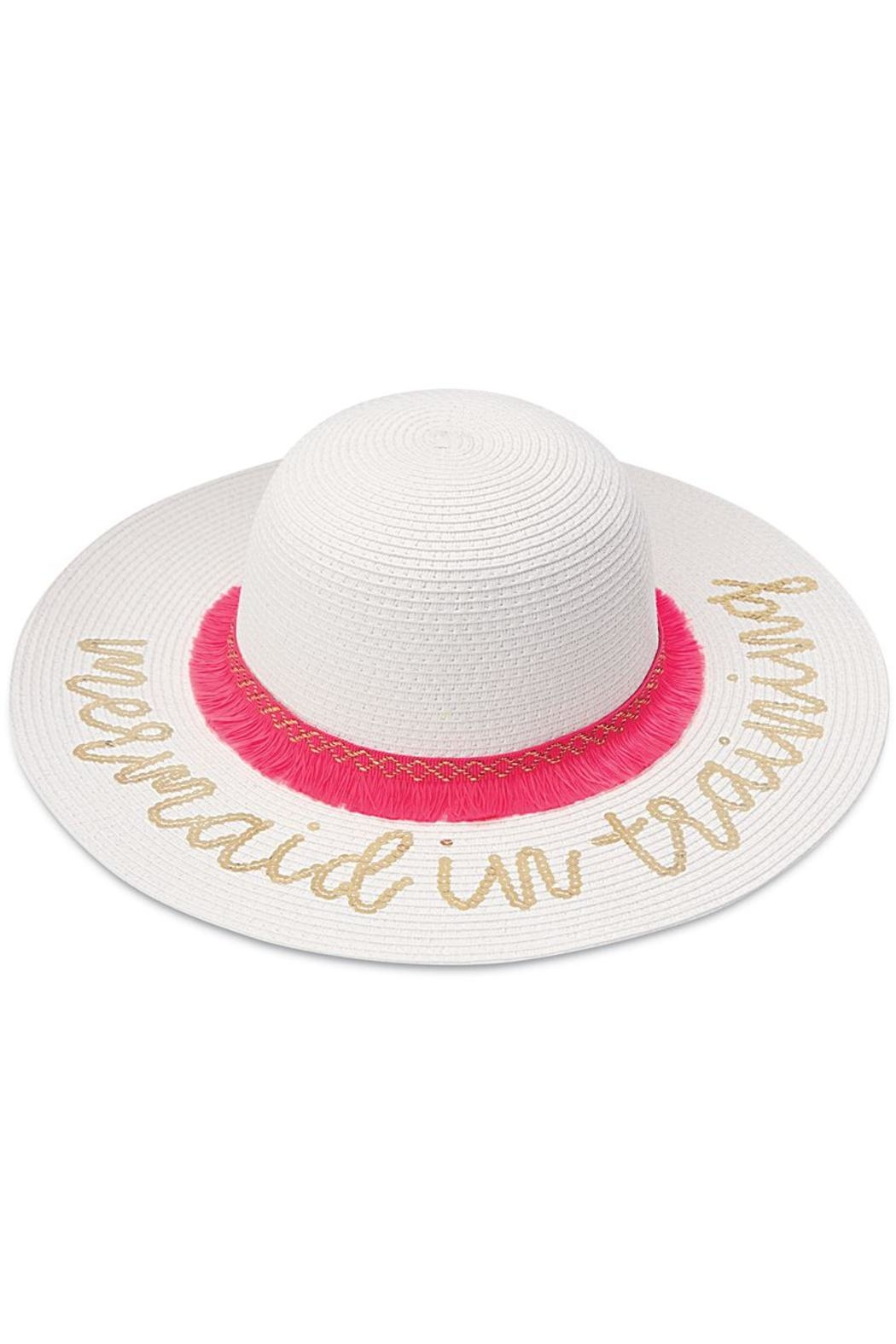 Mud Pie Mermaid Beach Hats - Front Cropped Image