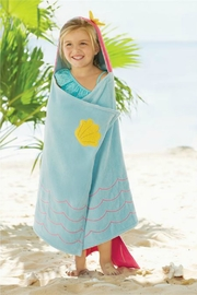Mud Pie Mermaid Hooded Towel - Product Mini Image
